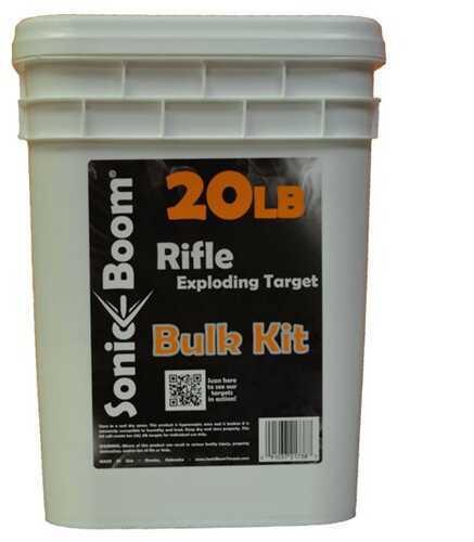 Cascade Industry Sonic Boom 20Lb Bulk Exploding Rifle Target Kit