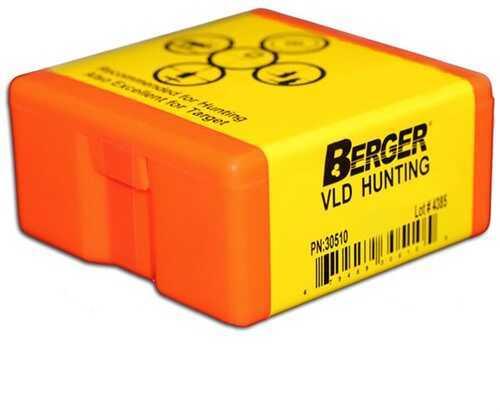 Berger Bullets Berger 6.5 mm VLD Hunting 140 Grain Reloading Component Bullet, 500 Per Box