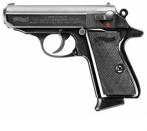 "Walther PPK 380 ACP 3.3""Blued Barrel  Semi Automatic Pistol 2246002"