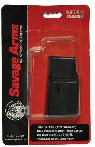 Savage Arms Savage Magazine Box Assembly 7mm-08 Rem Matte Blued