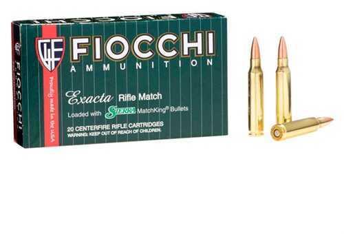 Fiocchi Ammo Fiocchi Exacta 223 Remington Ammunition, 69 Grain Sierra MatchKing Hollow Point, 20 Per Box