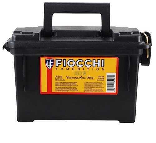 Fiocchi Ammo Fiocchi Aero Slug Low Recoil 12Ga 2.75'' 1Oz 80/Can (80 rounds Per Box)
