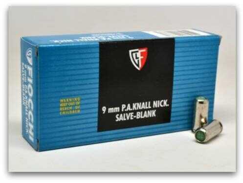 Fiocchi Ammo Fiocchi 9mm P A Knall BLANKS 50/Box (50 rounds Per Box)