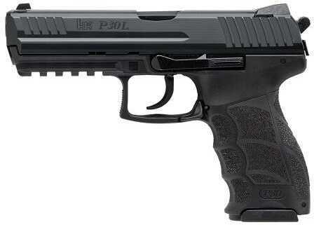 Heckler & Koch P30L V3 DA/SA Rear Decocker No Safety 40 S&W 10 Round Semi Automatic Pistol 734003L-A5