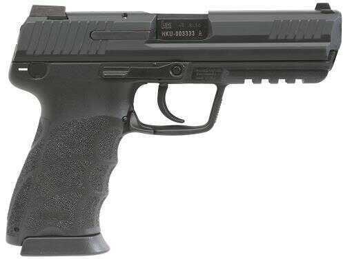 "Heckler & Koch HK45 V7 45ACP 4.5"" Barrel 10 Round Black Finish 3 Dot Adjustable Sights Semi Automatic Pistol 745007LE-A5"