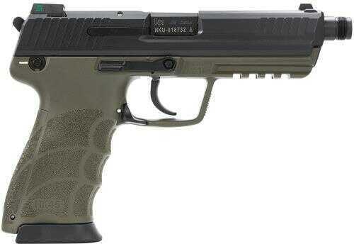 "Heckler & Koch HK45 Tactical V1 45ACP 5.16"" Barrel 10 Round Green Semi Automatic Pistol 745001TGLE-A5"