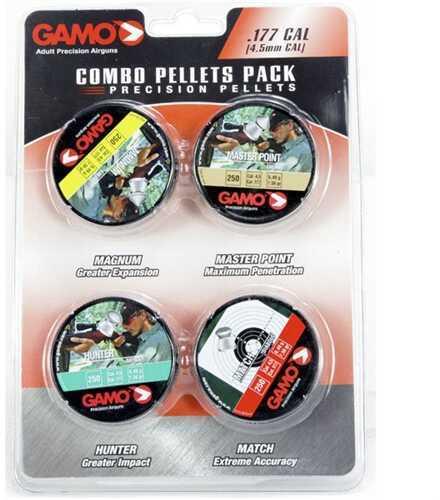 Gamo Combo PAK 1000 ASSORTD Pellets