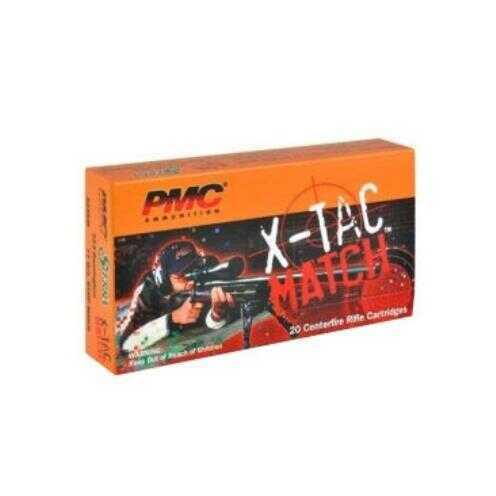 PMC X-Tac Match 223 Rem 77Gr Sierra OTM 20/Bx (20 rounds Per Box) Ammo
