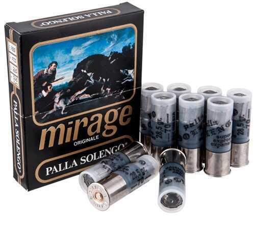 Clever Mirage Palla Solengo 12Ga 1 Oz Slug 10/Bx Rounds Of Shotshells