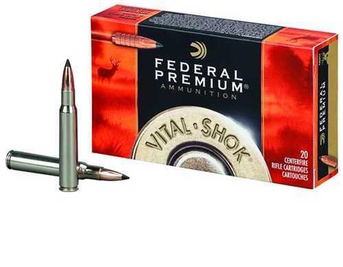 Federal Cartridge Federal Vital Shok 270 WSM 130Gr Trophy CopPer 20/Bx (20 rounds Per Box)