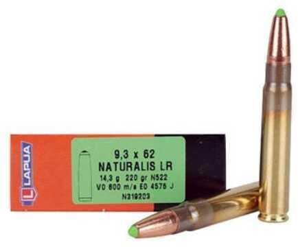 Lapua Ammo Naturalis 9.3x62 250 Gr Solid (20 rounds Per Box) Ammo