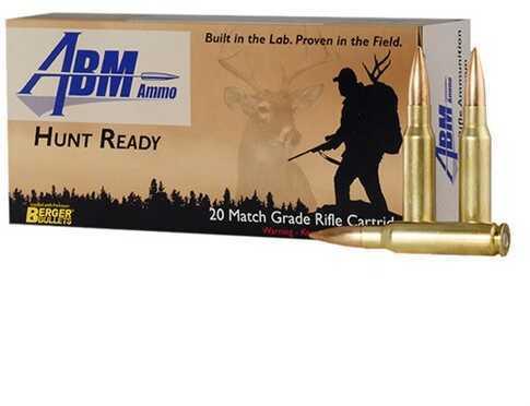Abm Ammo 308 Winchester 168 Grain Berger Match Classic Hunter Ammunition, 20 Rounds Per Box