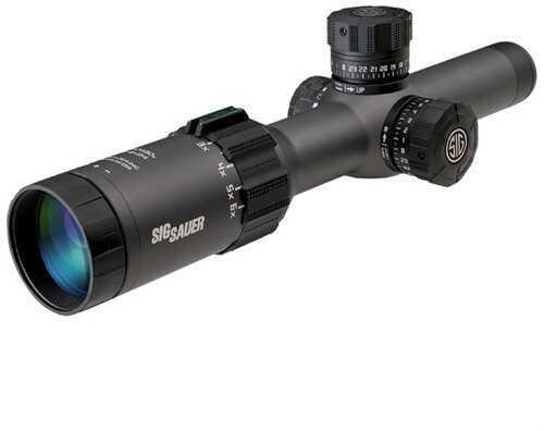 Sig Sauer Sig Tango 1-6x24mm Front Focal 5.56/7.62 Ill. Horseshoe Dot