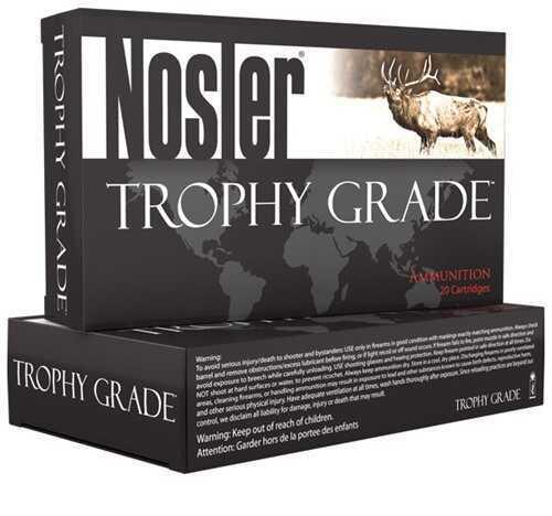 Nosler Trophy Grade Ammo 26 142Gr Accubond LR 20/Box