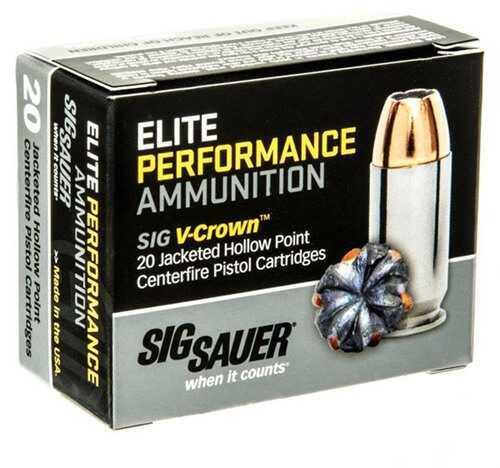 Sig Sauer Sig E45AP0-20 45 185 JHP VCROWN20/10