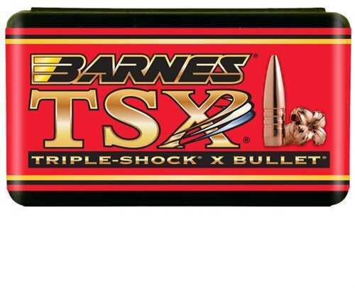 Barnes Bullets Barnes TSX Bullet 200 Grain 35 Cal Reloading Component Bullet, 50 Per Box