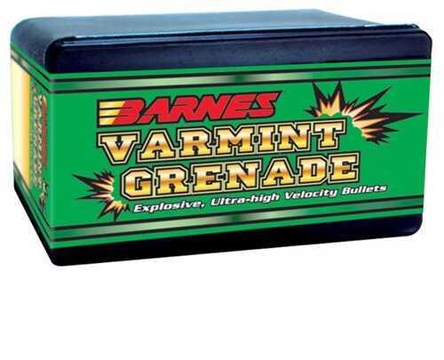 Barnes Bullets Barnes Varmint Grenade 22 Hornet 30 Grain Reloading Component Bullets, 250 Per Box