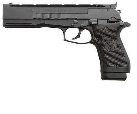 Beretta 87 Target Pistol 22 Long Rifle 5.9'' Barrel Black Matte Adjustable Sights 10+1 Rounds