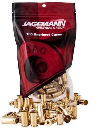 Cascade Industry Jagemann Unprimed Brass For 9mm Luger, 100 Per Bag