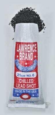 Cascade Industry Lawrence Chilled Shot #8 25Lb Bag