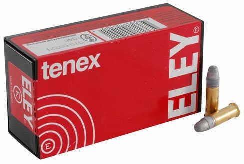 Eley Ammunition Eley Tenex 22LR, 40Gr, Flat Nose, 50 Rounds /Box