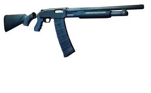 "Black Aces Tactical Pro Series 5 Standard Pro 12 Gauge Shotgun 18.5"" Barrel Black"