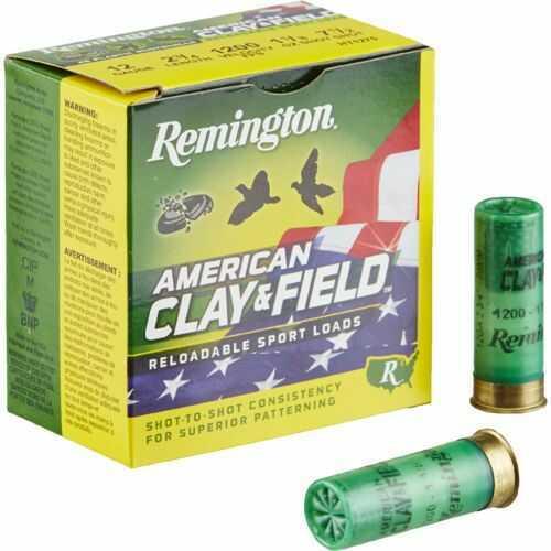 Remington American Clay & Field Sport Loads, 410 Gauge #9 Shot 2.5 Inch 1/2 Ounce, 25 Per Box Md: REMHT4109