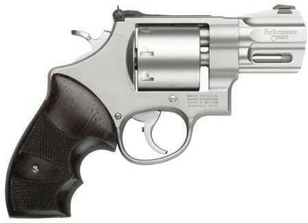 "Revolver Smith & Wesson M627 357 Magnum 2 5/8"" Barrel Stainless Steel Wood Grip 8 Round 170133"