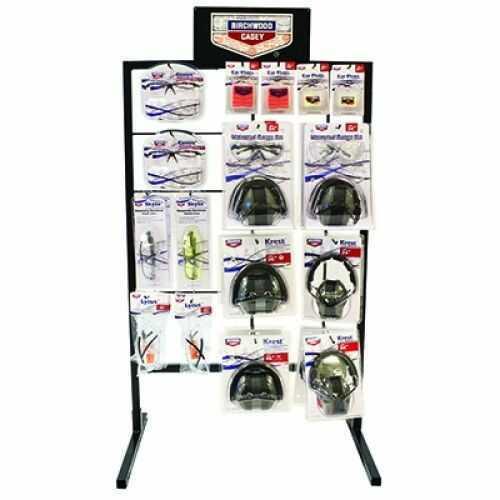 Birchwood Casey Eye And Ear Protection Display Md: 43001