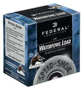 Federal Speed-Shok 12 Gauge 3'' 1-1/4Oz BB Steel Shot 25/Bx