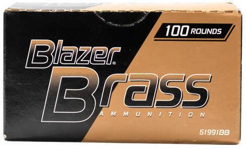 CCI Blazer Brass 9MM 115 grain Full Metal Jacket per 100