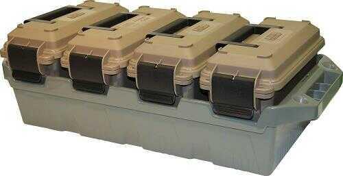 MTM 4-Can Ammunition Crate 30 Caliber Dark Earth