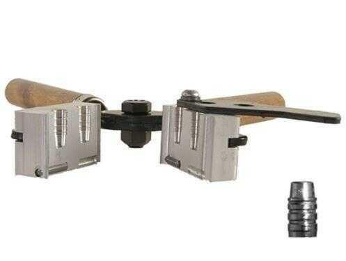Lee 2-Cavity Bullet Mold C358-158-SWC 38Spl/Colt/S&W/357Mag 158 Grain Semi-Wadcutter Gas Check Md: L