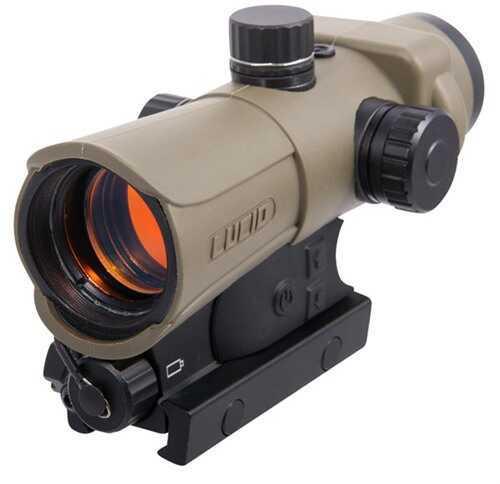 Lucid Optics LLC HD7 Generation 3 Red Dot Picatinny Flat Dark Earth 2MOA L-HD7-Tan