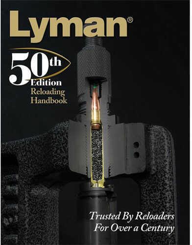 Lyman 50th Edition Reloading Handbook Softcover 9816051