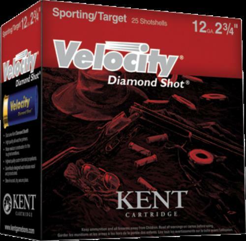 Kent Cartridges Kent Ammo 12Ga Gamebore Velocity Fibre Wad #8 1Oz