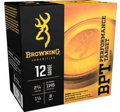 Browning 12gauge 2-3/4'' 1-1/8ounce Light #8 25rds/box