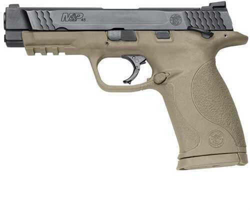 Smith & Wesson M&P45 45ACP No Mag Safety Flat Dark Earth 10 Round Semi Automatic Pistol 109156