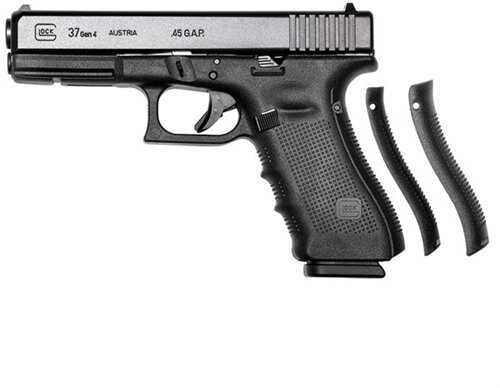 "Glock Model 37 45 GAP 4.49"" Barrel 10 Round Fixed Sights Semi Automatic Pistol PI37502"