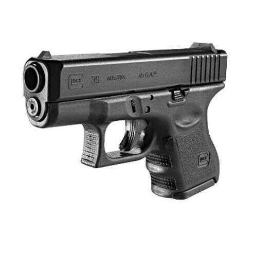Glock 39 Subcompact Gen3 45 GAP 3.42'' Barrel Semi Automatic Pistol