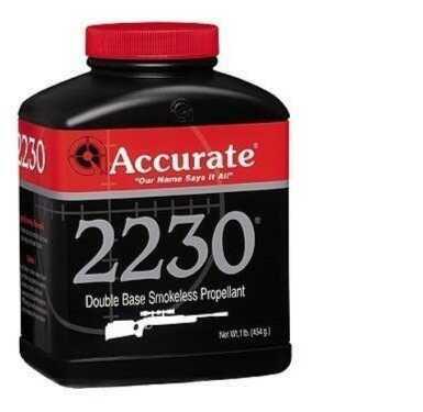 Accurate Powder 2230 Smokeless 1 Lb