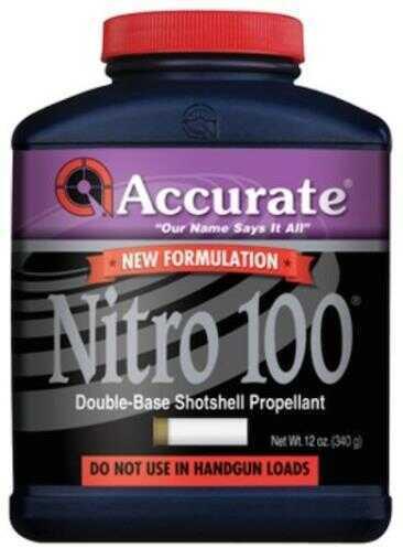Accurate Powder Nitro 100 Smokeless 12 Oz