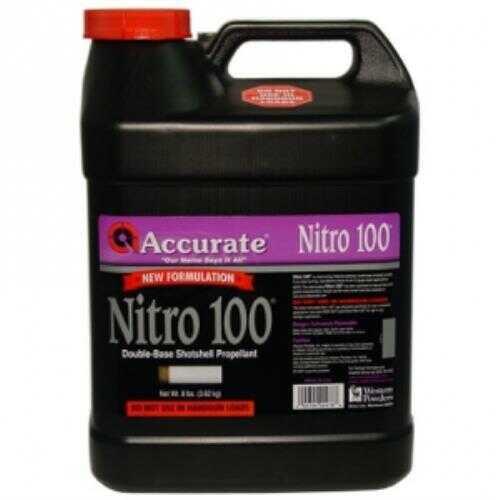 Accurate Powder Nitro 100 Smokless 8 Lb