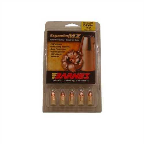 Barnes Bullets 45 Caliber Expander MZ Bullets 195 Grain Expander Muzzleloader w/ Sabots (Per 15) 40016