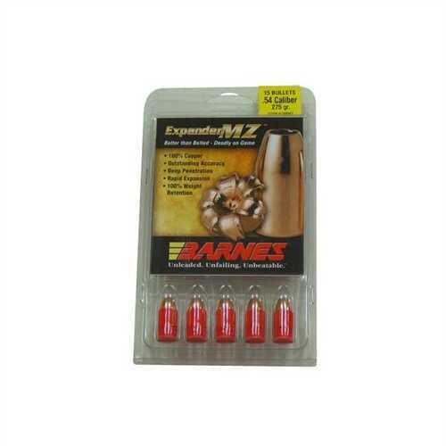 Barnes Bullets 54 Caliber Bullets 54 Caliber 275 Grain Expander Muzzleloader (Per 15) 50041