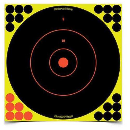 "Birchwood Casey Shoot-N-C Targets: Bull's-Eye SRC-5 12"" Round 200 Yard (5 Pack) 34012"