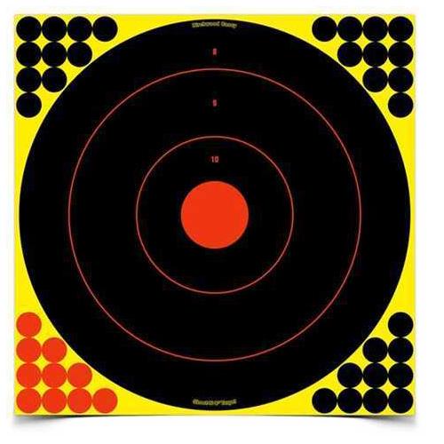 """Birchwood Casey Shoot-N-C Targets: Bull's-Eye 18"""" Round (5 Pack) 34185"""