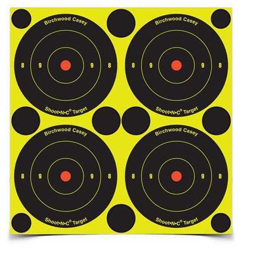 "Birchwood Casey Shoot-N-C Targets: Bull's-Eye 3"" Round Target (Per 48) 34315"