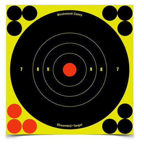 Birchwood Casey Shoot-N-C 6'' Bull's-Eye Target, 1000 Sheet Pack