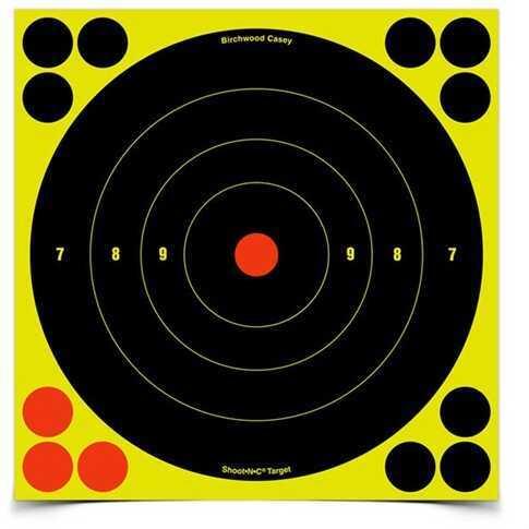 """Birchwood Casey Shoot-N-C Targets: Bull's-Eye 8"""" (Per 500) 34880"""